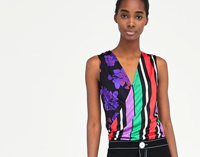 """Check out new work on my @Behance portfolio: """"ZARA Basic - bodysuit with stripe and flowers aop"""" http://be.net/gallery/62297185/ZARA-Basic-bodysuit-with-stripe-and-flowers-aop"""