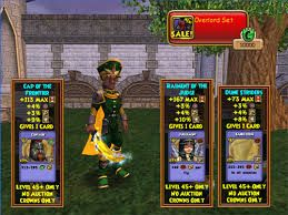 take a look wizard101 clothes can give you spells if high enough level