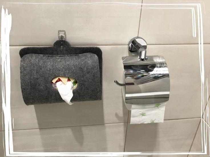 organizer na mokry papier / kids wet toilet paper organizer