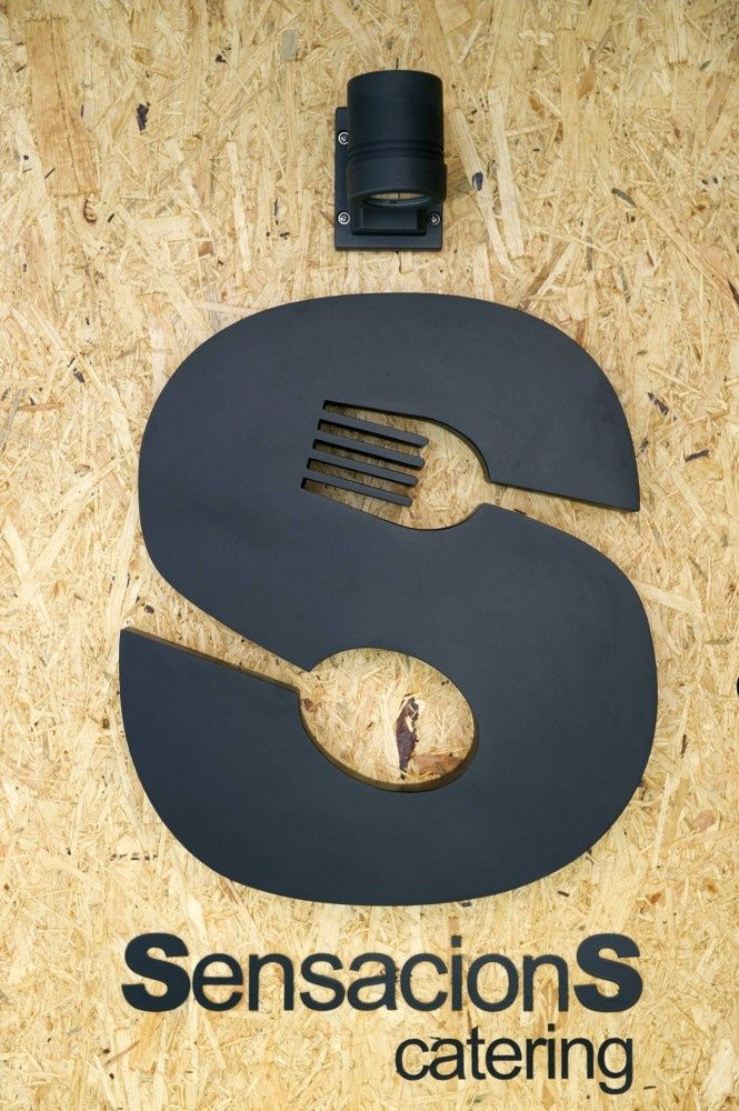 #negativespace #logo #design #food #fork #spoon #creative