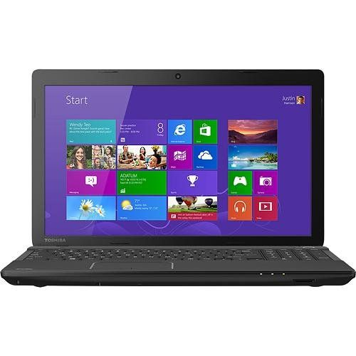 TOSHIBA Laptop /// Intel® Celeron® processor 1037U - Features a 2MB cache and 1.8GHz processor speed. 4GB DDR3 memory - For multitasking power, expandable to 16GB. Multiformat DVD±RW/CD-RW drive with double-layer support - Records up to 8.5GB of data or 4 hours of video using compatible DVD+R DL and DVD-R DL