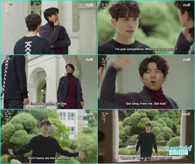 goblin ask grim reaper get lost and grim reaper ask what it is what i can't do and said don't leave me alone - Goblin - Episode 2 (Eng Sub)
