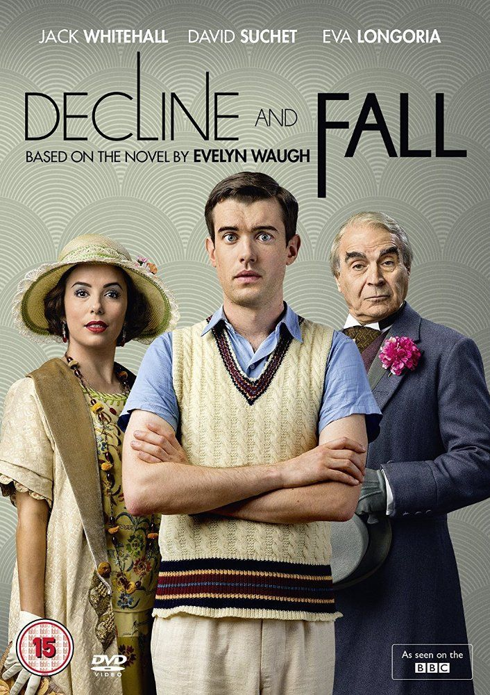 Eva Longoria, David Suchet, and Jack Whitehall in Decline and Fall (2017)