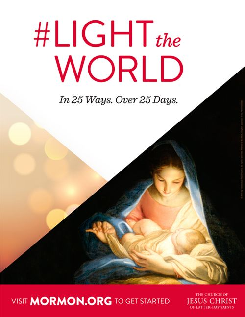 During Christmas, we are reminded that Jesus Chris t is the light of the world. This year, we each have an amazing opportunity to share...