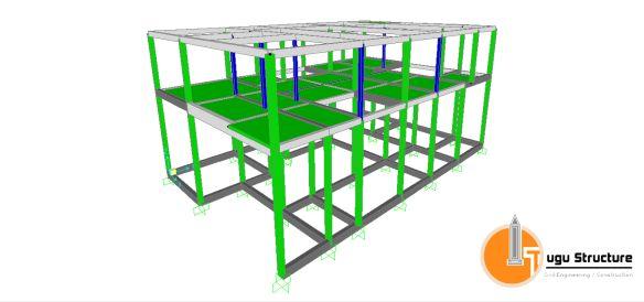 Jasa Perhitungan Struktur Rumah 2 Lantai 02