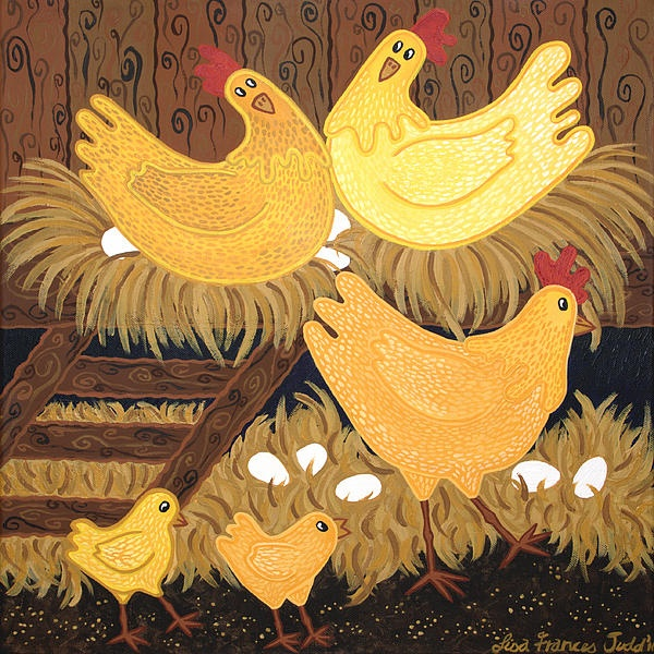 Country Print by Lisa Frances Judd, Australian Artist.