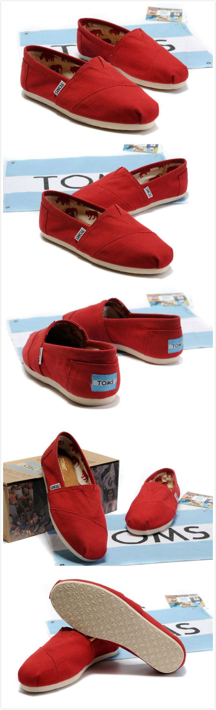 I need to replace my red toms...Love them so much wore them out