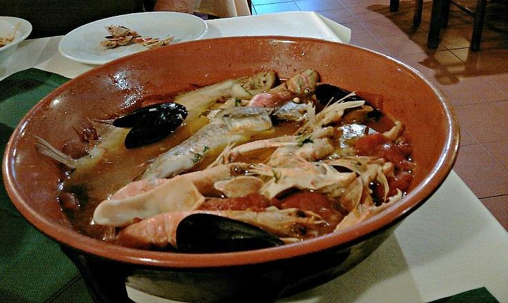 brodetto fish soup from Vasto, Abruzzo
