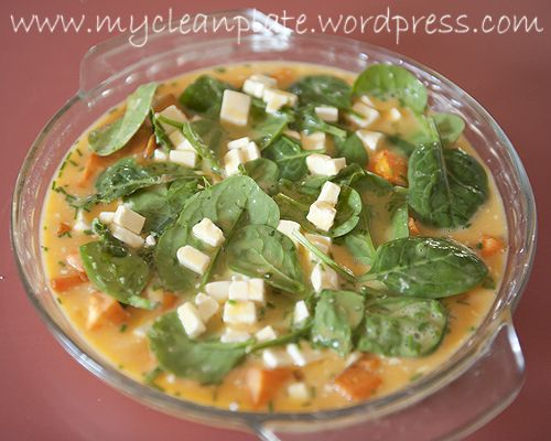 Sweet Potato, Feta & Spinach Frittata (Low Fodmap, Gluten Free)