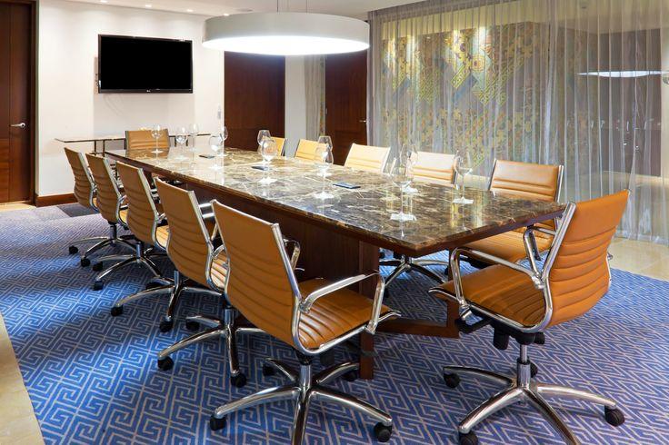 """""""Sala de Juntas Marbella"""" con capacidad para 12 personas es el lugar ideal para tu #Evento, #Reuniones #Eventos #Congresos #Hotel Reservas: reservations.ctghi@ihg.com"""