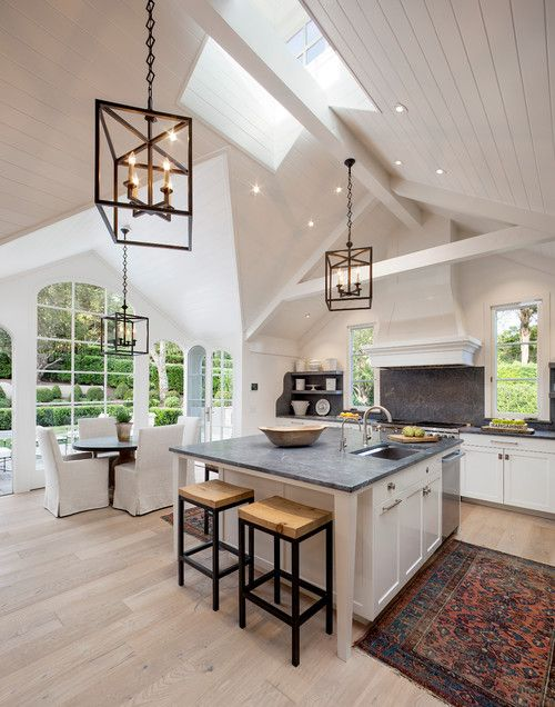 Love this light fixture for kitchen
