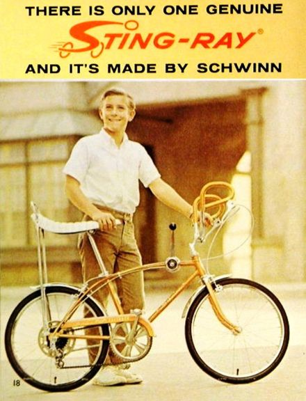 schwinn sting-ray bike by dogblather