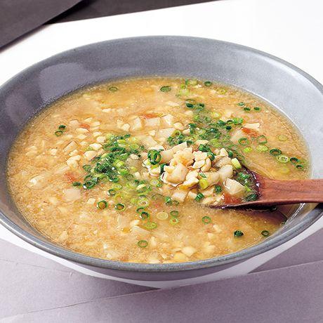 れんこんの梅納豆汁 | 下条美緒さんのみそ汁の料理レシピ | プロの簡単料理レシピはレタスクラブネット
