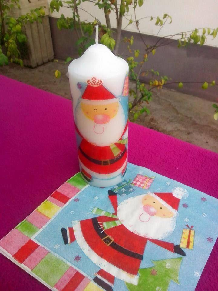 cristmas candle