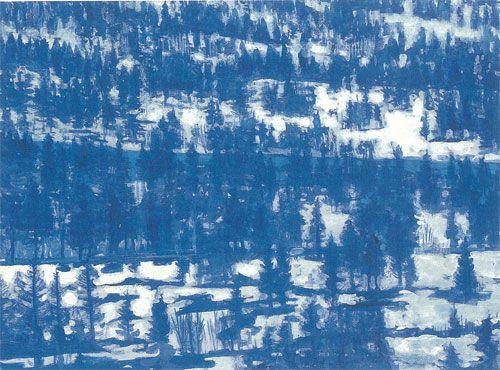 東山魁夷 雪原譜 1963年