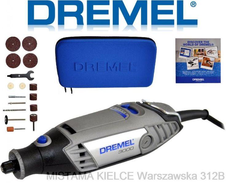 DREMEL 3000 + 15 akcesoriów + ETUI