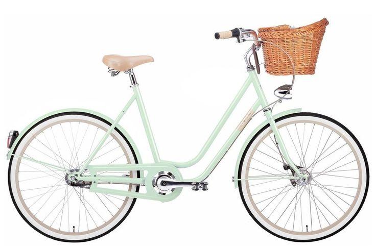 Rower miejski Creme Molly PISTACHIO