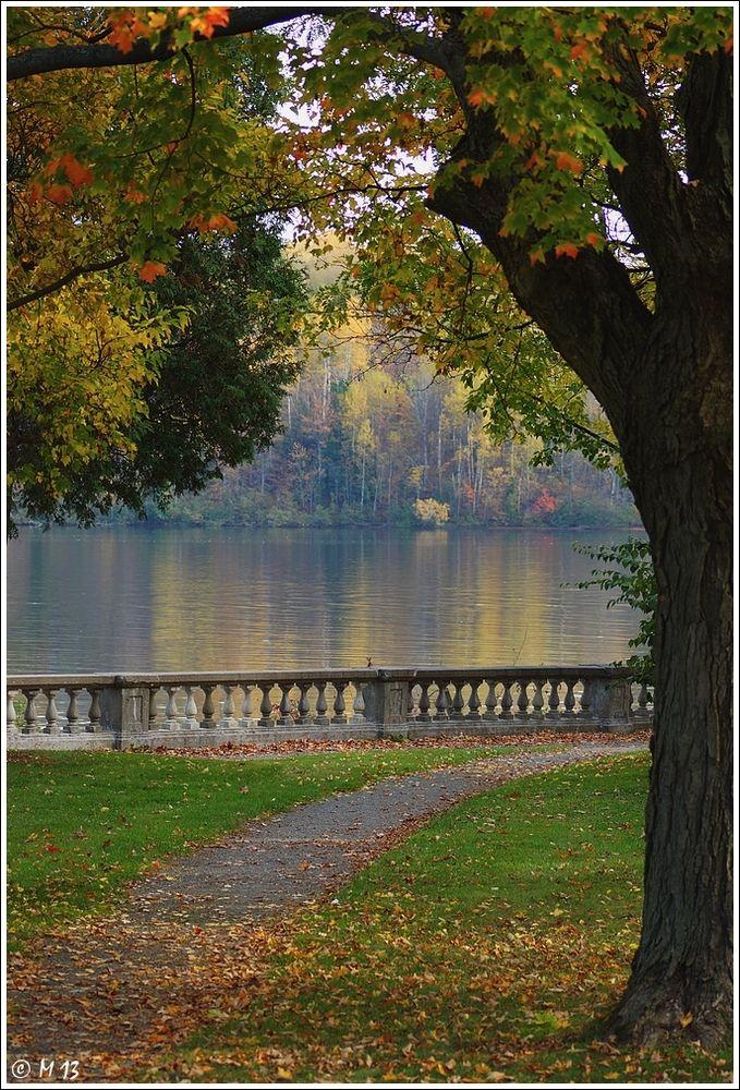 Autumn in the Park - Shawinigan, Quebec - Canada