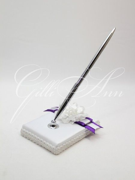 Свадебная ручка с подставкой Gilliann Valensia PEN021, http://www.wedstyle.su/katalog/anniversaries/wedding-pen, wedding pen