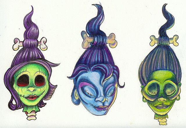 shrunken head tattoos | 3657348187_534418dafb_z.jpg