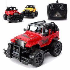 #Banggood 1/24 На пульте дистанционного управления РУ машина внедорожник автомобиль Рождественский подарок (1102181) #SuperDeals