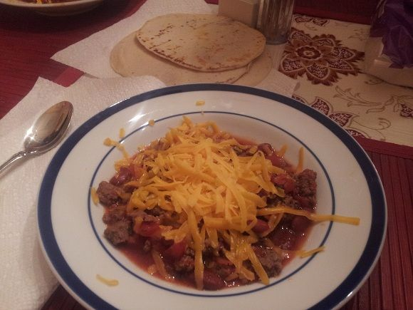 Chili Con Carne Recipe: This recipe for Chili Con Carne is a hearty meal that is great for large groups or even football games. I like making several ahead and freezing them so I have a good, stick-with-you meal whenever it's needed. Serve with some tortilla chips, corn bread, or tortillas. Enjoy!