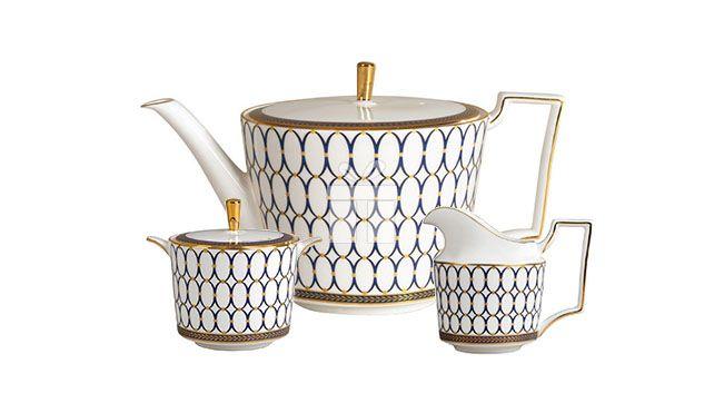 Set 3 Piese Ceai Wedgwood Renaissance   #accesoriiceaiportelan #portelanenglezesc #ceainic #cadouridelux #cadourispeciale #cadourifemei