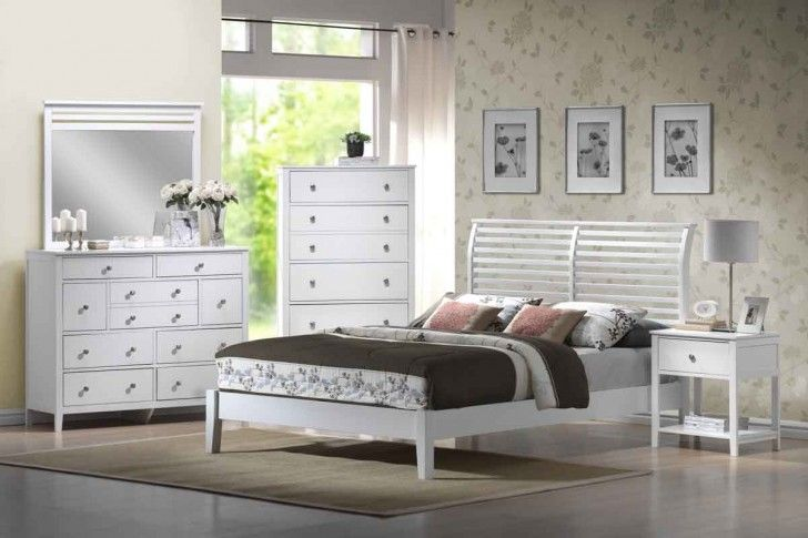 Bedroom Furniture White With Modern Table And Wood Floorin Ikea Bedroom Sets White Bedroom Set Distressed White Bedroom Furniture