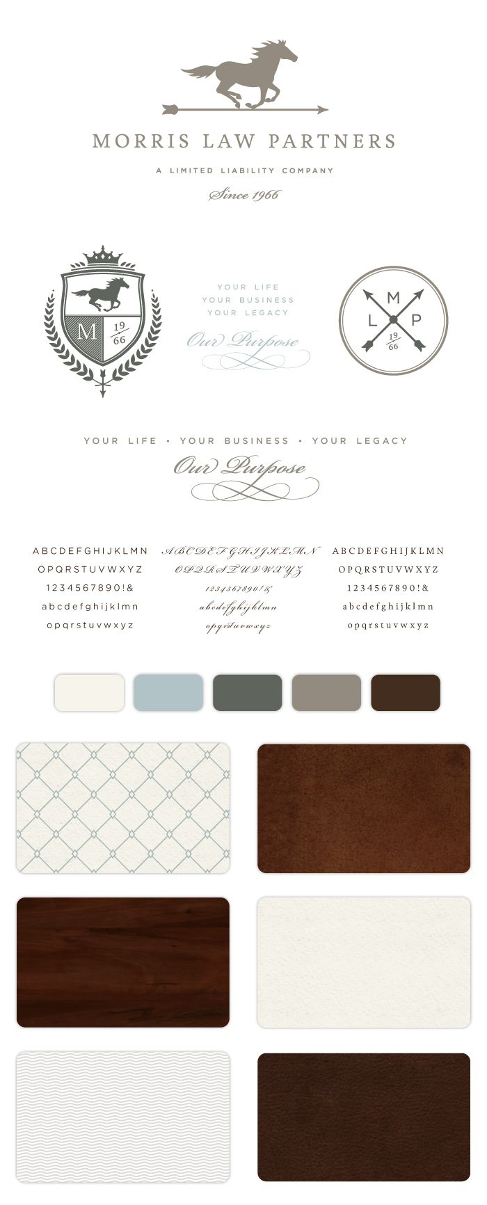 Morris Law Partners, LLC Branding • Braizen Branding & Design