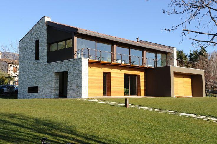 Residenza alle pendici del Grappa - Acciaio Arte Architettura