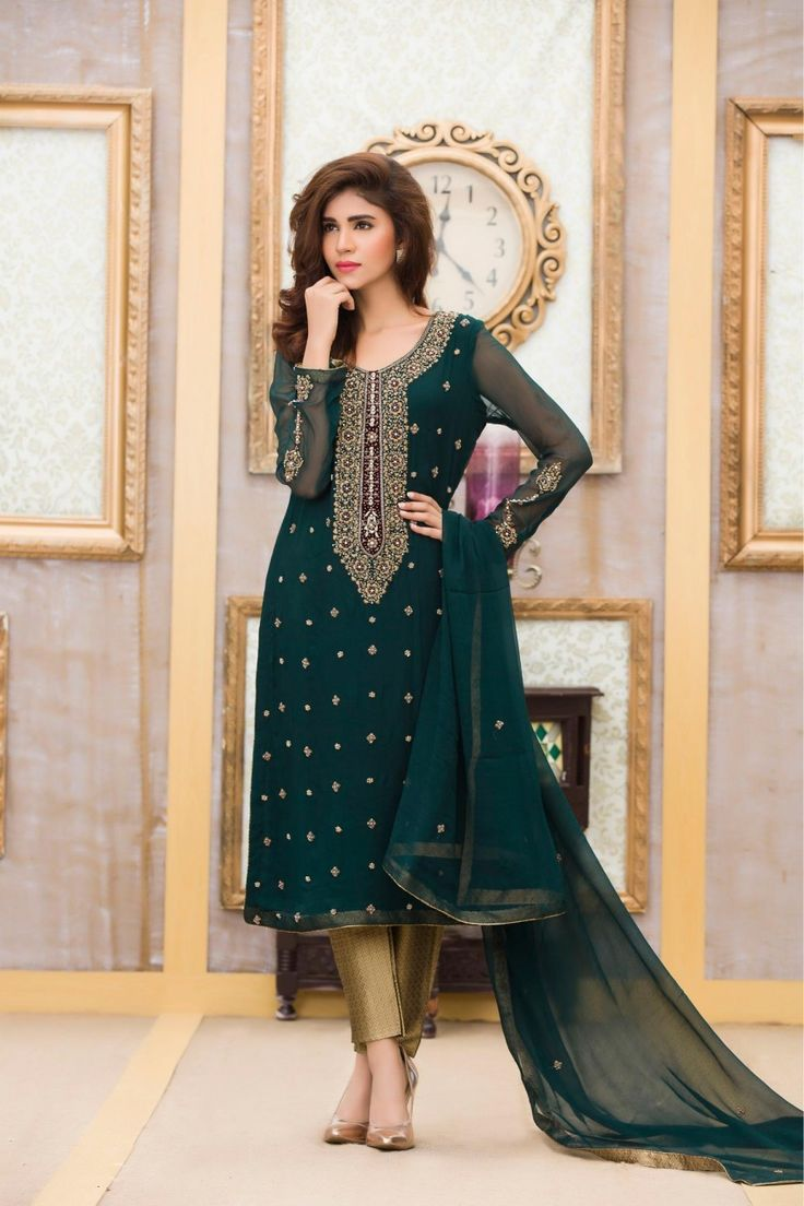 Maxi dress pakistani designer salwar
