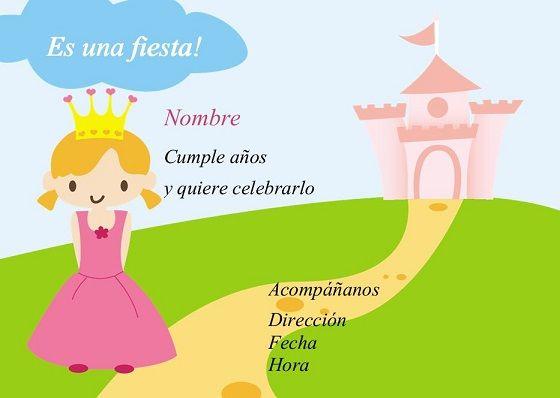 Cumpleaños Princesa: http://comprasonline.zetta.com/product/invitacion-cumpleaos-princesa-14-x-10-cm