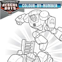 Coloring Page RESCUE BOTS Heroes On The Scene Coming To DVD March 18 2014