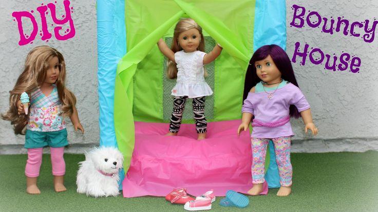DIY American Girl Bounce House Craft