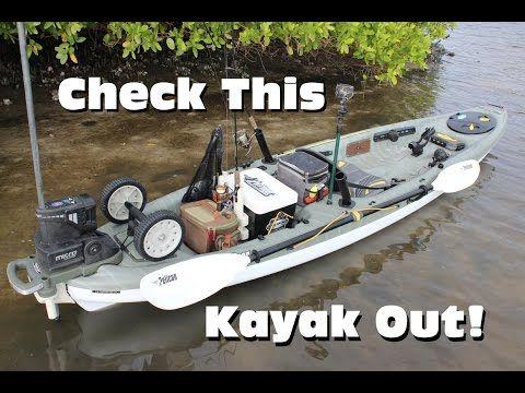 Ultimate inshore fishing kayak rigging pelican strike for Youtube kayak fishing
