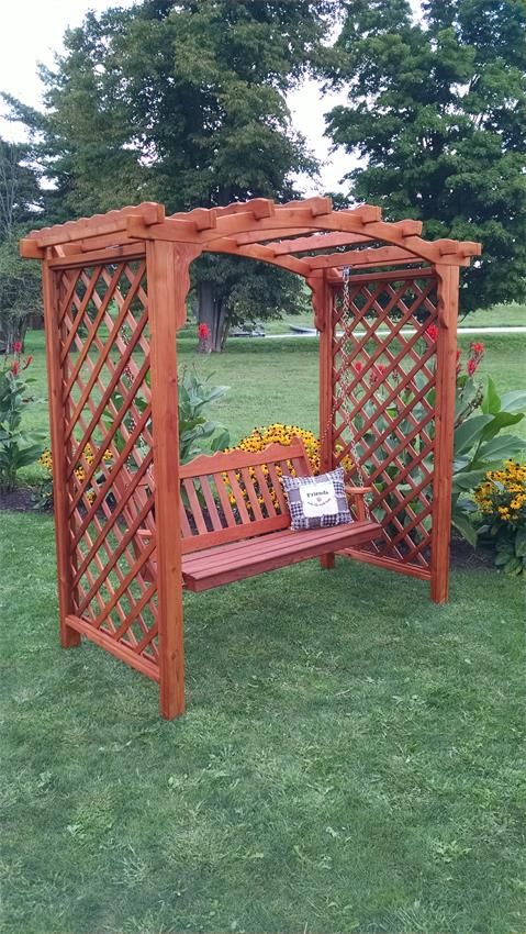 American Made Westchester Recycled Poly Swing. Amish FurnitureOutdoor ...