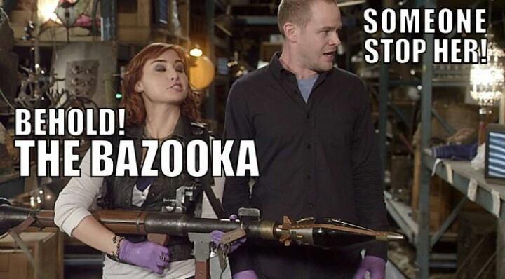 It's a goo shooting bazooka. Goozooka.