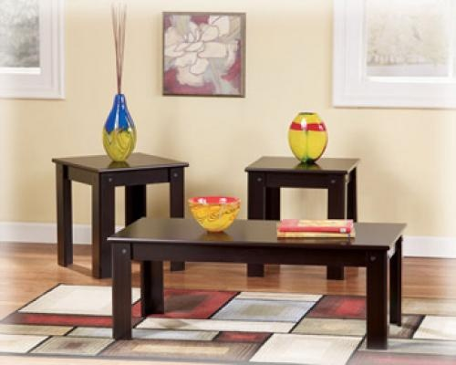 Ashley Furniture Signature Design Emporia Occasional Table Set 3cn