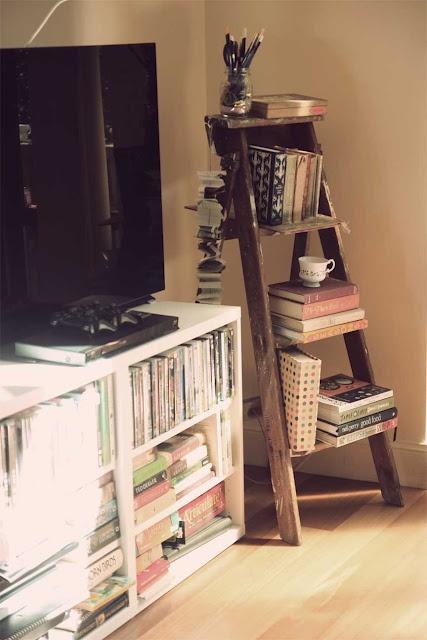 Book shelf ladder!
