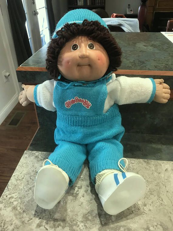 1978 1982 Original Cabbage Patch Kids Doll With Winter Clothes Cabbage Patch Kids Cabbage Patch Kids Dolls Kids