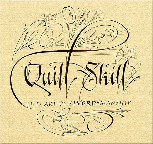 Quill Skill ~ The Art of Swordsmanship   The tongue is mightier than the sword, for each strike and stab of the blade will wound and heal. Each sound of a word will remain eternally scarred upon the heart of the wounded.