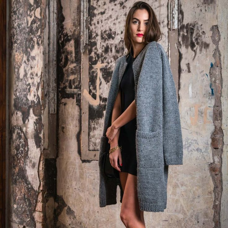 Cardigan Cara is made from supersoft alpaca and merino wool. A great addition to your wardrobe for this winter: a chique yet modern piece, which is very versatile. #cardigan #grey #damesmode #wintermode