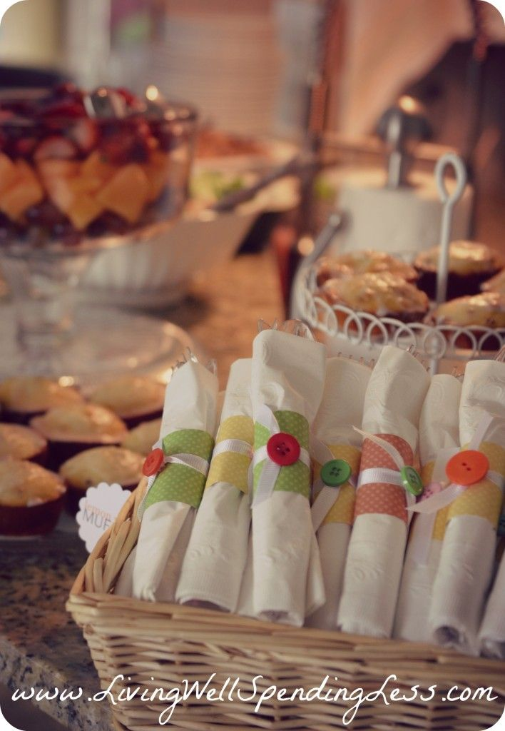 cute as a button baby shower theme | budget baby shower ideas