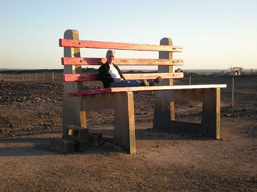 The Big Bench, Broken Hill, New South Wales