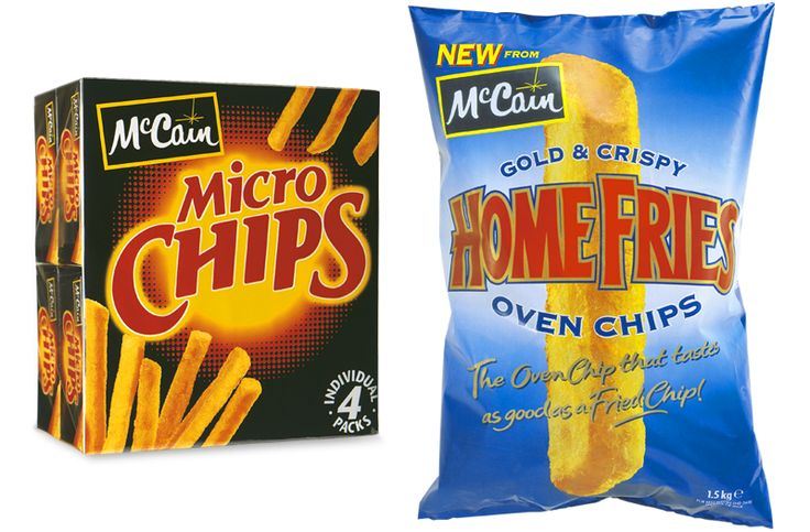 the SPIRIT of... Oldies but Goodies #packagedesign #packaging #design #graphicdesign #mccain #chips #fries #theSPIRITof