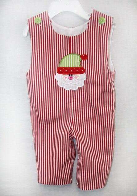 291633  Christmas Jon Jon  Baby Clothes  Baby Boy by ZuliKids, $27.00