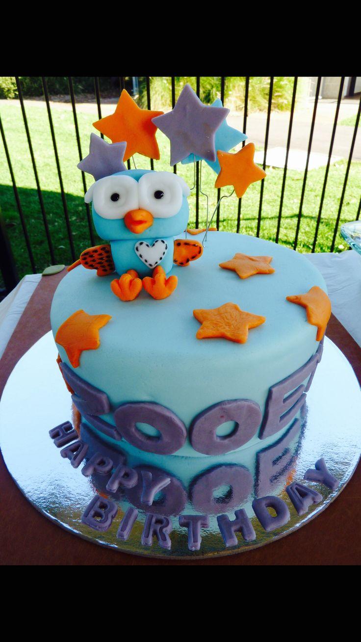 (Giggle &) Hoot cake - cake #1