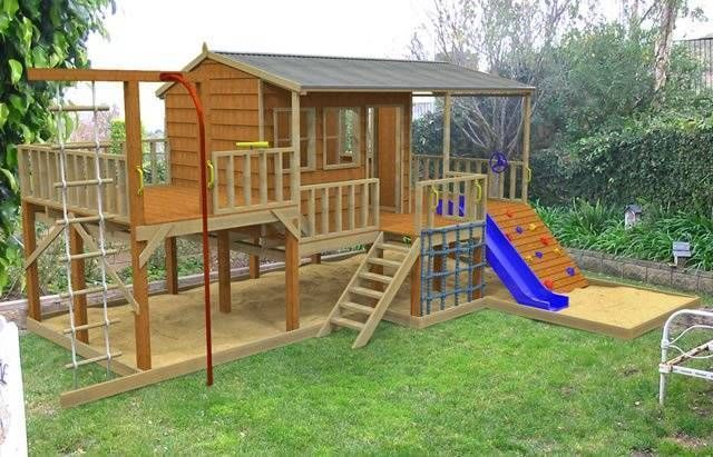 234 Best Cubbyhouses Images On Pinterest 3 4 Beds