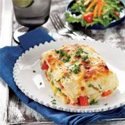 Sebzeli lazanya Tarifi - Resimli Yemek Tarifleri - Lezzet
