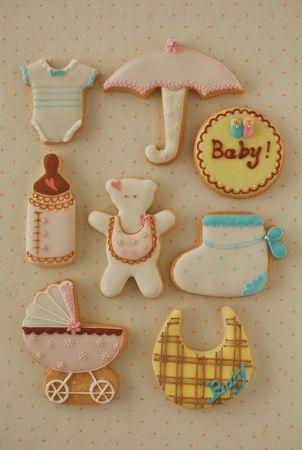 Baby shower idea.....cookies.